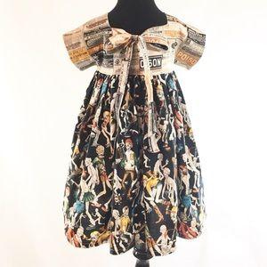 Lil Piece of Attitude Dresses - Toddler Zombie Halloween Dress Size 5 Custom Made
